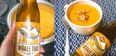 Beer, Cheese and Bacon Soup #BoozyFoodieMakeThis!