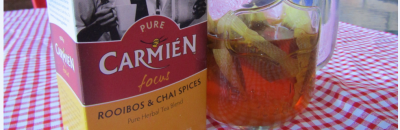Stewed Fruit with Carmien Tea Syrup