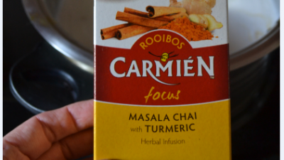 #FestiveScoops with Carmién Tea:  Chai Turmeric Ice Cream