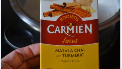 #FestiveScoops with Carmién Tea:  Chai Turmeric Ice Cream