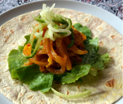 Easter Eats:  Pickled Fish Wraps!