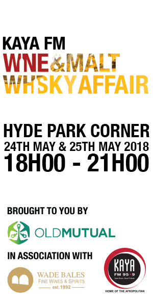 Kaya FM Wine and Malt Whisky Affair Boozy Foodie Event Calendar