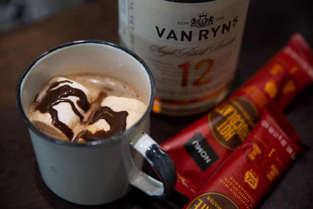 Van Ryn's Brandy Hot Cocktails Nomu Boozy Foodie News
