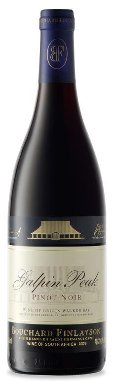 Boozy Foodie News Bouchard Finlayson Galpin Peak Pinot Noir