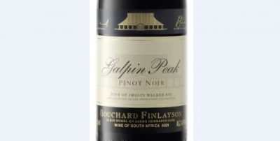 """Bouchard Finlayson Rated """"Best Pinot Noir"""" in 2018 SAWi Awards"""