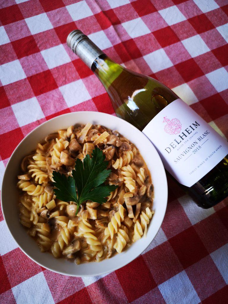 Delheim 2018 Vegan Wine Sauvignon Blanc BoozyFoodie Blog Roelia Schoeman