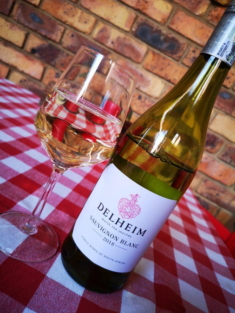 Delheim Sauvignon Blanc 2018 Vegan Wine BoozyFoodie Blog