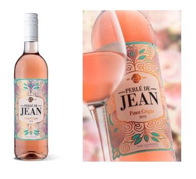 Perlé de Jean Pinot Grigio 2018 Van Loveren BoozyFoodie News
