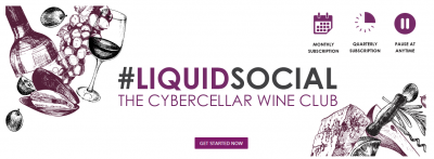 Liquid Social has arrived: Cybercellar launches first-of-its-kind subscription service curated by wine's shining stars