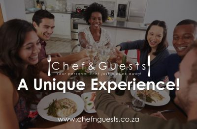 A dining experience of note with Chef & Guests