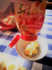 NOLA Mayonnaise Deviled Eggs #CreateAStir BoozyFoodie 7