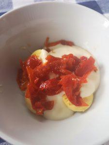 NOLA Mayonnaise Deviled Eggs #CreateAStir BoozyFoodie 8