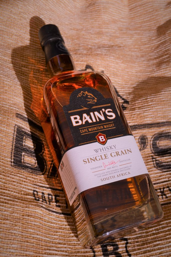 Sihle's Brew Bain's Cape Mountain Whisky Cape Mountain Brew Cocktail BoozyFoodie