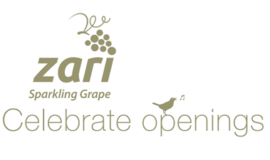 #CelebrateOpenings with Zari Sparkling Grape
