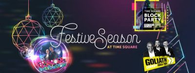 Let the festivities begin – Time Square unleashes bumper festive lineup #RockTheHolidays