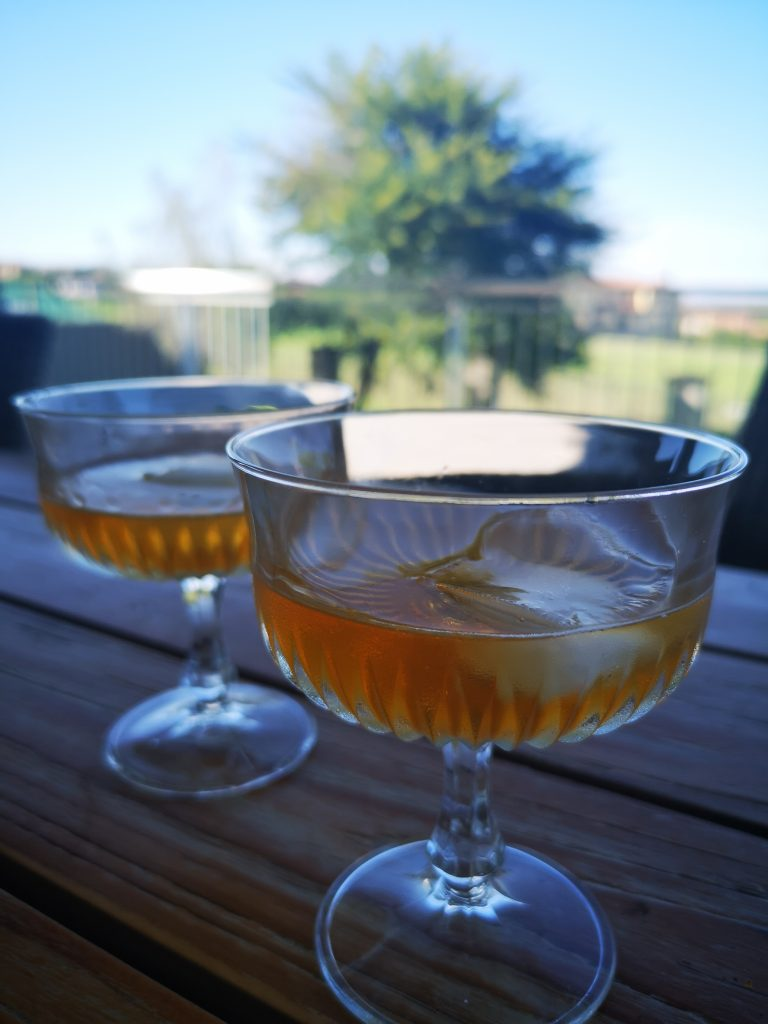 Rooibos Day Rooibos Martini Sipping Slowly