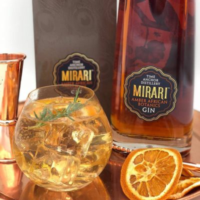 Servingthe perfect gin with Time Anchor's Mirari Gin (PR)