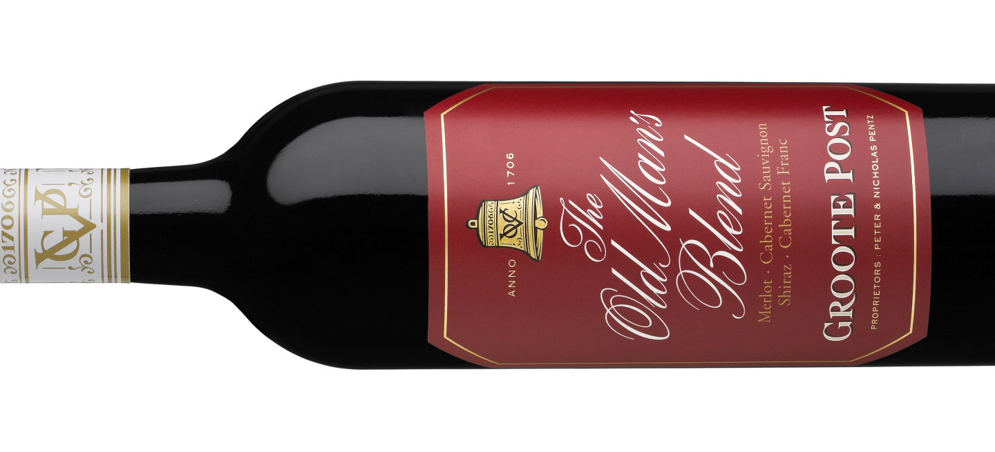 Groote Post's The Old Man's Blend Wines Ideal for Father's Day (PR)