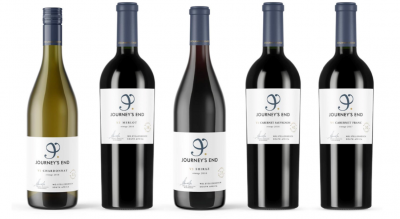 "Journey's End Vineyards Release Their Rebranded ""V"" Series to High Acclaim #PR"