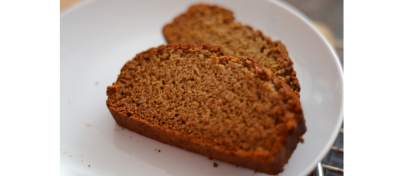 Favourite Quick Breads:  Gingerbread KEG Comfort