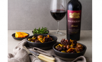 Roodeberg Reserve is a full-bodied red for hearty comfort food #PR
