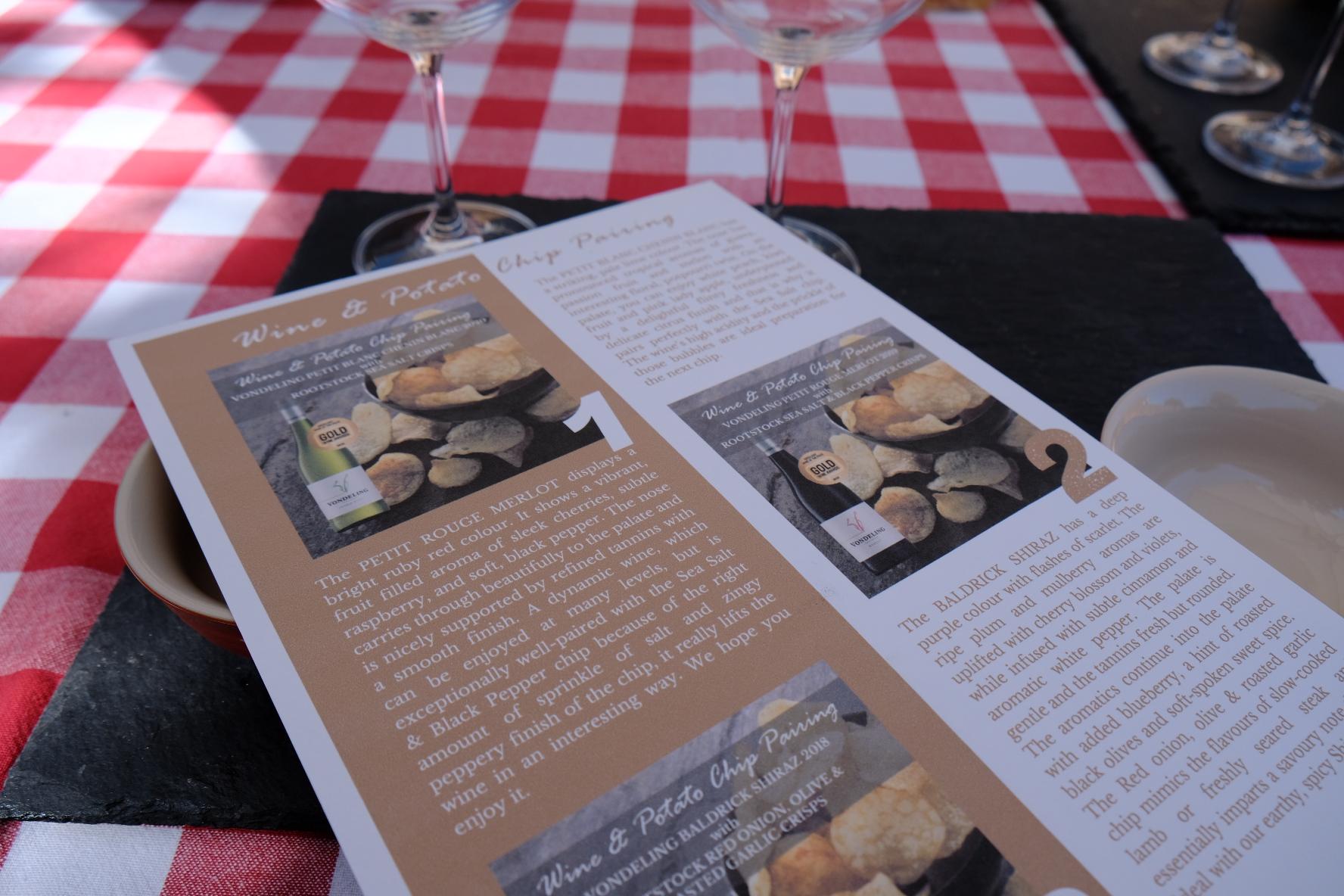 Vondeling Wine and Chip Pairing Boozy Foodie