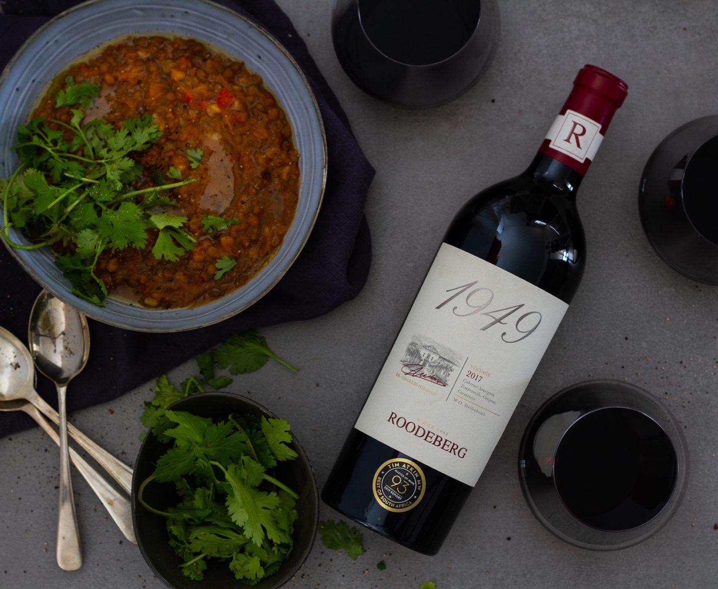 Roodeberg and hearty lentil soup make the perfect winter pair (Wine News)