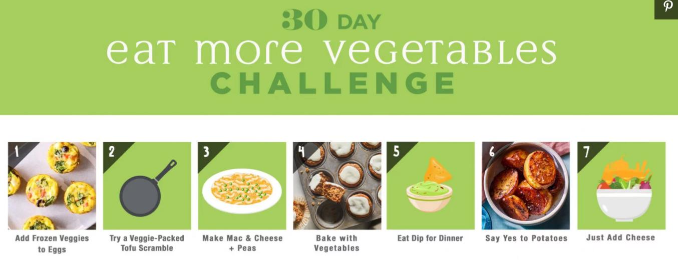 Eating Well 30 Day Eat More Vegg