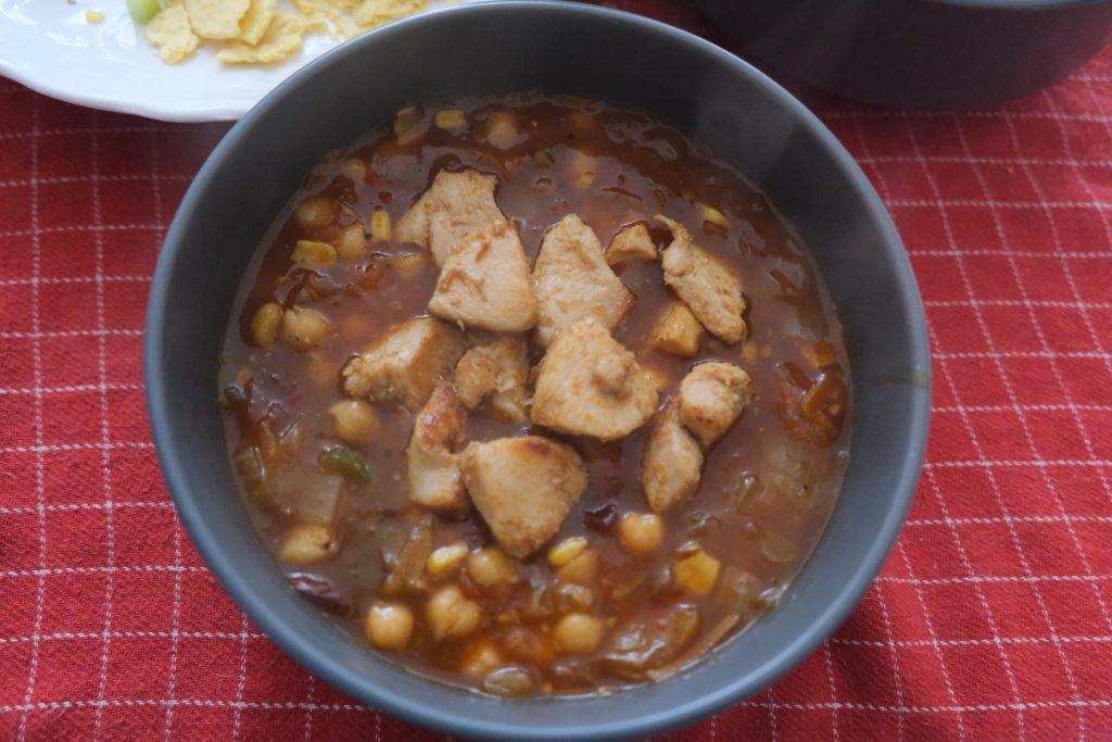 Rhodes Chicken Tortilla Soup Boozy Foodie