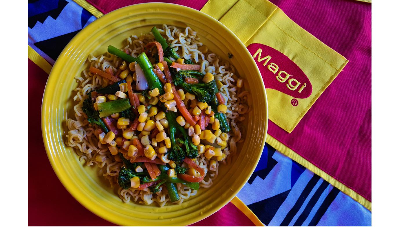 #OpenUpTheKitchen:  Veggie Delight MAGGI Noodles