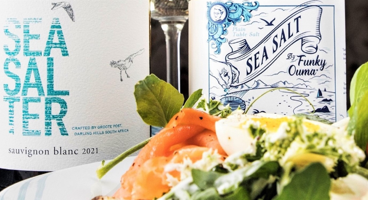 Enjoy Debbie McLaughlin's Smoked Salmon Trout Salad with Groote Post's #SeaSalter2021 #News
