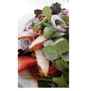 Summery Strawberry Salad
